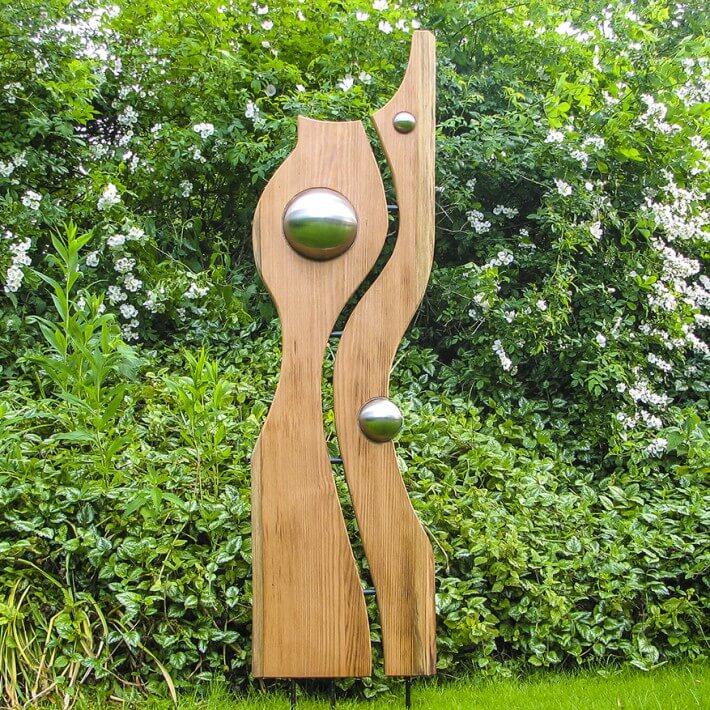 Skulptur - natürlich, organisch und schwungvoll
