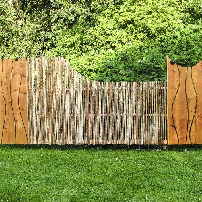 Eine abwechslungsreife Alternative zum herkömmlichen Gartenzaun